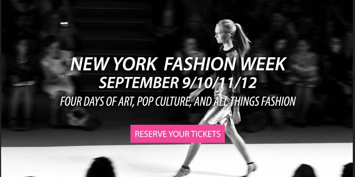 New York Fashion Week Tickets